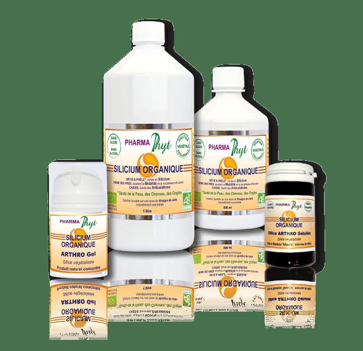 Gamme Silicium organique