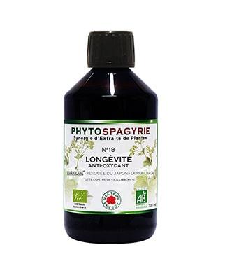 PHOTO-phytospagyrie synergie N18 longevite18