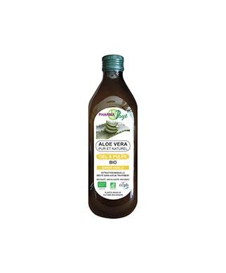 aloe vera gel et pulpe bio 500ml vanille